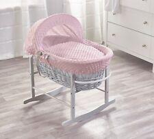 Shnuggle Baby andare a dormire IN VIMINI//LETTINO CON MATERASSO-Grigio 0-6 mesi