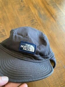 North Face Sherpa Hat with Ear Flaps - Large / Extra Large - Blue - Fleece Lined