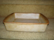 """New listing Pampered Chef Family Heritage Stoneware 9"""" Square Deep Dish Baker Pan"""