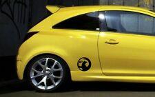 Vauxhall Logo 2 x panel de puerta/Coche Decal Sticker Adhesivo Corsa Astra Vectra