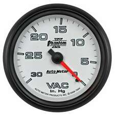"Autometer 7884 Phantom II Vacuum Gauge 2-5/8"" Mechanical (full sweep)"