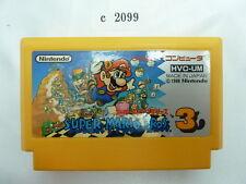c2099 Super mario bros 3 Famicom Japanese NES FC Tested! Nintendo Cartridge