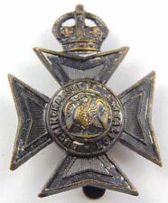 The Buckinghamshire Battalion British Army Cap Badge - Black