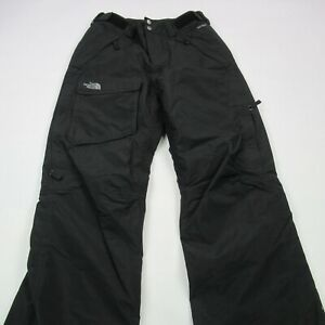 The North Face Women's Size Small Black Ski Pants Hyvent Elastic Cuffs