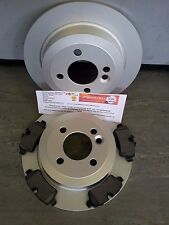 MINI ONE COOPER 1.4 1.6 REAR BRAKE DISCS & PADS 2006-2015 R55 R56 R57