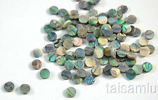 Green Abalone Inlay Material for guitar,ukulele,mandolin 80 pieces Dots 6mm VG-6