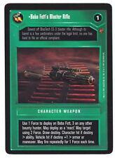 SWCCG Star Wars CCG • Boba Fett's Blaster Rifle • CLOUD CITY • RARE
