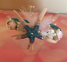XO Bouquets Wedding  Mermaid Seashell Crown Tiara Headband Starfish