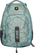 "Wenger SwissGear Mars Light Blue Pattern 16"" Laptop Backpack"