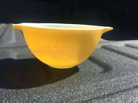 Pyrex Glass Butterfly Gold 441 Cinderella Nesting Mixing Bowl 750ml Vintage USA