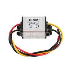 Waterproof DC Buck Converter Voltage Regulator 8-22V to 1-15V 5V 12V 3A