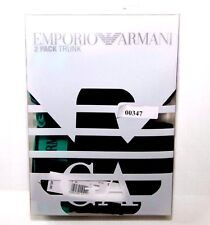 Emporio Armani 2 Pack Trunk 1112106A717 Navy Size M NEW