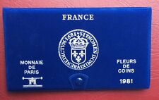 FRANCE - Rare  et  superbe  Coffret FDC 1981