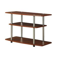 Convenience Concepts Designs2Go 3 Tier TV Stand, Cherry - 131020CH