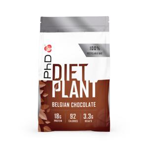 PHD Nutrition Diet Plant Protein 500g - Belgian Chocolate