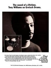 Tony Williams * POSTER * Jazz Fusion Drum MASTER Gretsch Drums - AMAZING PRINT 5