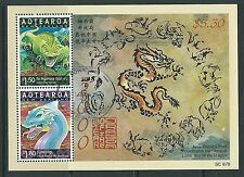 Nouvelle-zélande 2000 spiritueux et gardiens year of the dragon fine used