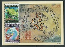 NEW ZEALAND 2000 SPIRITS AND GUARDIANS YEAR OF THE DRAGON  FINE USED