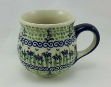 Bunzlauer Keramik Tasse BÖHMISCH - Becher - Blumen - 0,3 Liter, (K090-MC15)