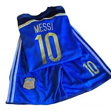 New listing Lionel Messi Jersey Shorts Combo Youth Size 28 Soccer