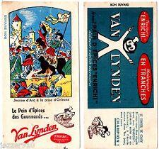LOT 2 BUVARD PUBLICITAIRE ANCIEN - VAN LYNDEN - JEANNE D'ARC/COUKY