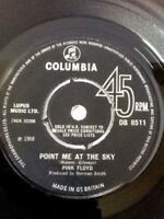 "Pink Floyd Point Me At The Sky 7"" vinyl 1st UK Press 1968 Columbia DB 8511 RARE"