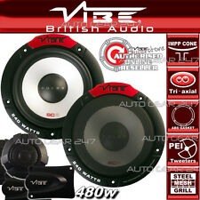 Vibe Pulse 6C 480W 16.5cm 165mm compatible Pièce Voiture Van étagère de porte