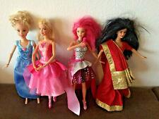 Mattel Barbie: Cinderella,Ballerin,Popstar und Indiner.Angebotspaket.Gebraucht.