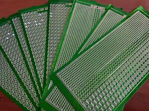 8 LINES GREEN PEEL OFF STICKERS HOLOGRAPHIC GREEN TO CLEAR XP6551/6571