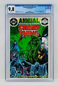Swamp Thing Annual #2 CGC 9.8 First Justice League Dark Appearance Cameo JLA 1st