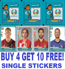 Panini Euro 2020 Preview  Single Stickers  AUSTRIA - FRANCE Buy 4 Get 10 Free!