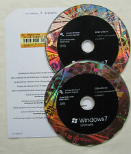 Microsoft Windows 7 Ultimate completo por menor 32 y 64-Bit DVD