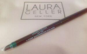LAURA GELLER I-Care Waterproof Eyeliner in GREEN ROOM *Brand New Full Size*