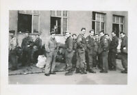 WWII 1945 414th ORD EVAC CO GI's in Paris  France  group Photo