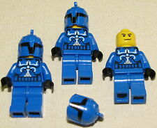 LEGO LOT OF 3 BLUE SENATE COMMANDO CLONE TROOPER STAR WARS MINIFIGURES MINIFIGS