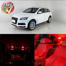 Red Interior LED Light Package 10 Pieces Fit 2006 Audi A3 S3 Canbus  Error Free