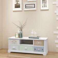 Shabby Chic French TV Cabinet Unit Stand/Side Board/Commode with 5 Drawers AU