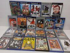 huge joblot/bundle playstation 2 (PS2) games - 23 x games *UNTESTED* (3450)
