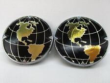 Lincoln Navigator gold door emblem badge logo globe world OEM Factory Genuine
