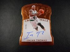2015-16 Crown Royale Isaiah Thomas 15/85 auto Boston Celtics autograph