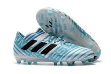 ADIDAS - BY2414 - NEMEZIZ MESSI 17.3 FG -Men's Soccer Shoes -White Blue -Size 12