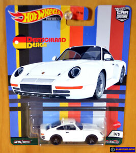 Hot Wheels '86 Porsche 959 [Deutschland Design] Premium 2021 - New/XHTF [E-808]