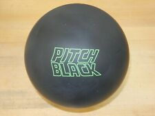 "NIB 14# Storm Pitch Black Bowling Ball Specs - 14.4/3-3.5"" Pin/2.89oz TW"