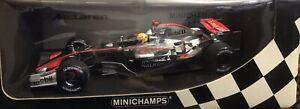 Lewis Hamilton Mclaren 1:18 Edition Limited Silverstone 2006 MP4 21