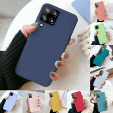 For Samsung Galaxy A72 A52 A42 A32 A12 Silicone Case Shockproof Soft Slim Cover