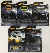 DC Comics Batman Alternate Color Batmobile Hot Wheels Lot Of 5 New