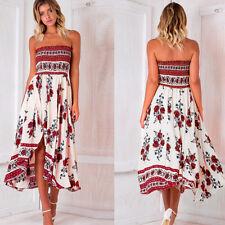 Women Boho Jumpsuit Romper Maxi Dress Evening Party Playsuit Beach Long Dress