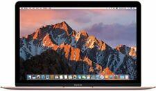 "Apple MacBook 12"" Oro rosa Intel Core M3 8GB RAM 256GB Neuwertig Händler"