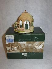 """Lilac Lodge"" 1997 Lilliput Lane Christmas Coll Cottage W/ Deeds Mib"
