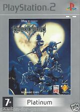 KINGDOM HEARTS for Playstation 2 PS2 - with box and manual